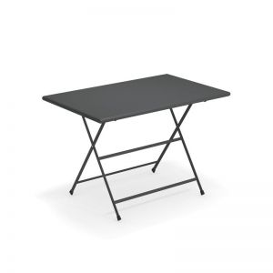 Triumph folding  44X28 Steel outdoor table