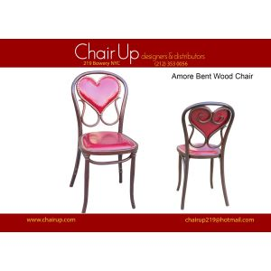 Amore Chair padded back Chair