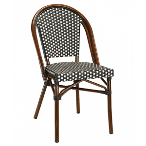 Bistro Metal Aluminum Chair