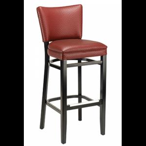 CrestonPadded Back NH Bar stool SR