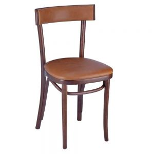 Frankfurt chair padded seat padded back