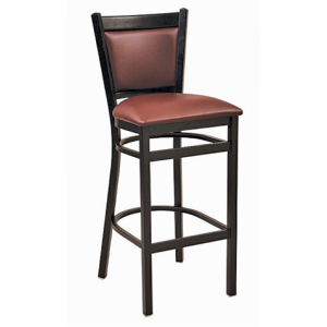 Geoff PS Padded Back Bar stool