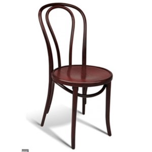 Hairpin Chair Mahogany