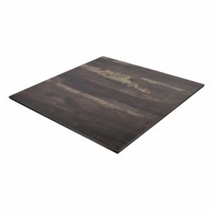 Weatherproof High pressure laminate restaurant table top - Walnut