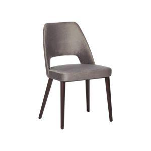 Jessie Chair PSPB grey velvet