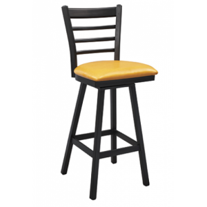 Ladderback Swivel Bar stool