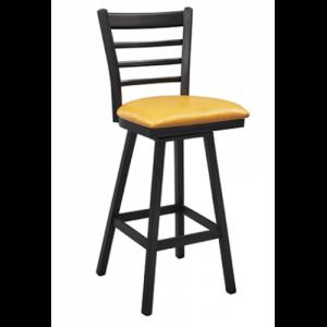Ladderback Swivel Bar stool