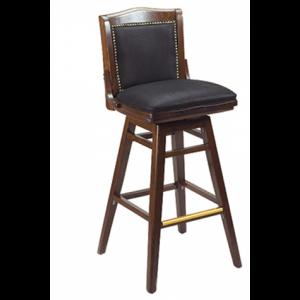 Library Swivel Padded Front Bar stool SR
