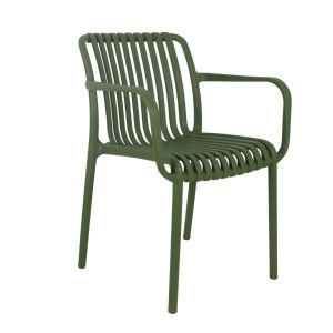 Madrid Resin Lined Modern Arm Chair