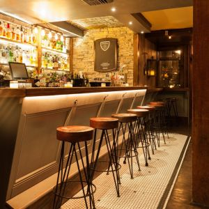 Drum Stool Wood Seat (bar height)