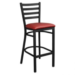 Metal Ladderback Bar stool
