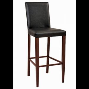 Metal Heston PSPB Bar stool Mahogany