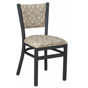Metal Ladderback Padded Back PSPB Chair