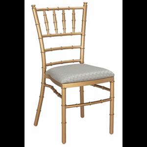 Metal Ballroom Chair Gold