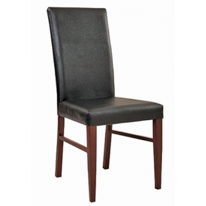 Metal Heston PSPB Chair Mahogany-Black