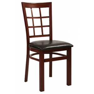Metal Window Pane Chair SR