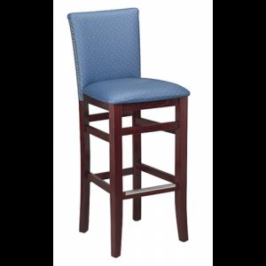 Nappa PS Padded Back Bar stool SR