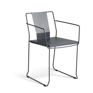 Palamos Tank Steel Outdoor Chair