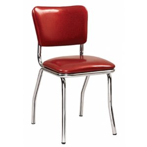 Retro Chair Red