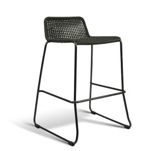 Rope Low back Bar stool