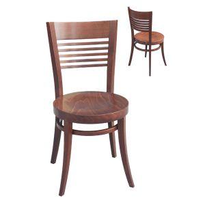 Round Ladderback Chair