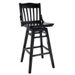 School Library Swivel Bar Stool