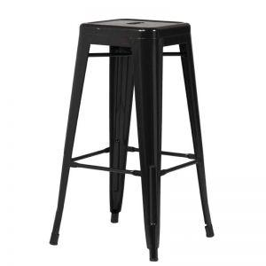 Sentinel Backless Bar stool Black