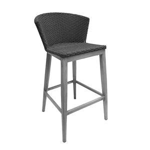 Shield Bar Stool - Grey