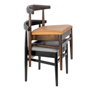 Toni Wishbone Stacking Chair