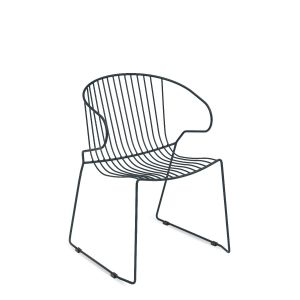 Bolonia Arm Chair Wired Mesh Steel Outdoor Chair