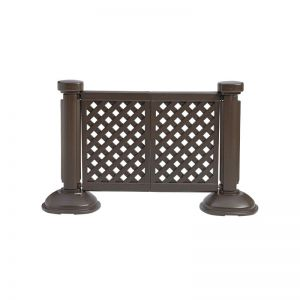 Resin Restaurant Outdoor patio fence partition -2 panel