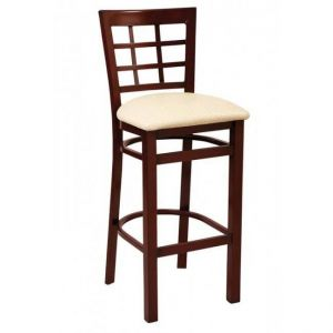 Metal Window Pane Bar stool