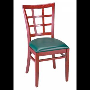 Window pane (wood) Chair SR