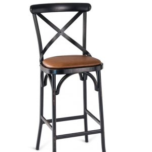 X-back Metal Bar stool