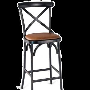 X-back Metal Bar stool