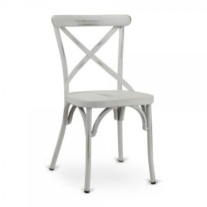 X-back Metal Chair